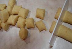 Bramborové noky s dušeným špenátem Dumplings, Dairy, Cheese, Czech Republic, Cooking, Kitchen, Bohemia, Brewing, Cuisine