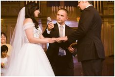 Traditional Wedding ceremony at Lantern Church in Calgary. Photos by Sujata Photography
