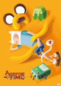 "Check out this @Behance project: ""Fanart- Adventure time"" https://www.behance.net/gallery/45283243/Fanart-Adventure-time"