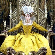 Cate Blanchet in Elizabeth: the golden age