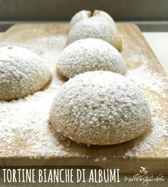 Tortine bianche di albumi Mini Desserts, Sweet Desserts, Sweet Recipes, Italian Biscuits, Italian Cookies, Cake & Co, Pie Cake, Egg White Recipes, Cranberry Bread