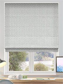Roman Blinds - Fabric Roman Blinds at Stunning Prices. Grey Roman Blinds, Fabric Blinds, Kitchen Curtains, Slate, Soft Fabrics, Kitchen Remodel, Luxury, Home Decor