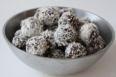 Snowball Truffles...these look and sound good.