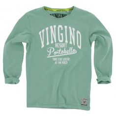 Vingino - Longsleeve Jermaine mint groen