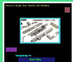 Construct Wright Door Handles And Hardware 100138 - The Best Image Search