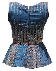 top African Print Dresses, African Prints, African Fashion Dresses, African Dress, African Attire, African Wear, African Women, African Style, Ankara Tops