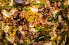 Steak Fajita Nachos. | Dennis The Prescott