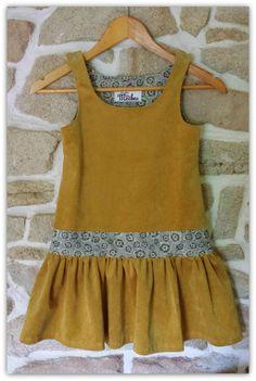 jolie robe, jolie détails , jolie couleurs !!!