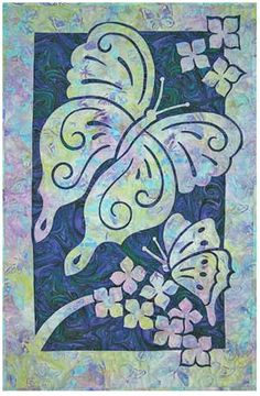 Butterflies Quilt Pattern Pacific Rim Quilt Company DIY Quilting Sewing Butterfly