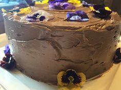 Four-Layer Chocolate Birthday Cake with Milk Chocolate Ganache and Nutella Buttercream Recipe - Bon Appétit