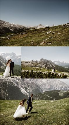 Petya & Tihomir traveled all the way from Bulgaria to Italy for their intimate Tre Cime elopement ceremony in the Dolomites. Elope Wedding, Italy Wedding, Wedding Vows, Destination Wedding Inspiration, Elopement Inspiration, Intimate Weddings, Real Weddings, Mountain Elopement, Ceremony Arch