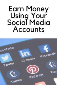 Earn Money Using Your Social Media Accounts #workfromhome #sidehustle #onlinebusiness