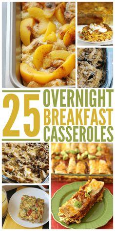 25 Overnight Breakfast Casseroles