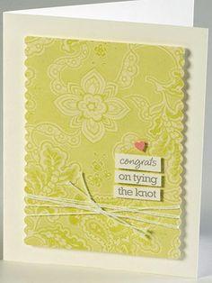 Congrats Wedding Card inspirationforothercards