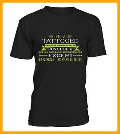 Top Shirt for Database Administrator Im Tattooed front 1 - Tattoo shirts (*Partner-Link) Tattoo Shirts, 1 Tattoo, Basketball Shirts, Love And Basketball, Unique Style, My Style, Oktoberfest Shirt, Gold T Shirts, July Born