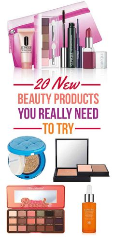 20 New Beauty Products You Really Need To Try