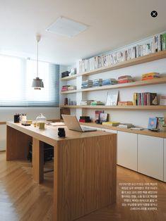 Trendy home dco desks ideas Arch Interior, Room Interior, Interior And Exterior, Interior Design, Home Libraries, New Home Designs, Trendy Home, Minimalist Living, Office Interiors