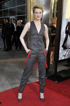 Evan Rachel Wood in Dolce & Gabbana at the True Blood Season 4 Premiere