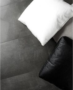 Lava series captures the versatile characteristics of concrete and presents them in an HD Ink Jet porcelain tile. Lava offers a subtle range of tonal hues that makes it easily adaptable to any decor. Installing Tile Floor, Concrete Look Tile, Floor Outlets, Tile Trim, Best Flooring, Wall Finishes, Lava, Bed Pillows, Interior Design