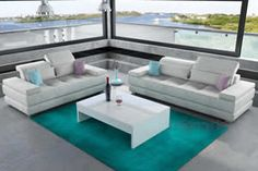Καναπές Angelina, Σαλόνια : Καναπέδες, Outdoor Sectional, Sectional Sofa, Outdoor Furniture Sets, Outdoor Decor, Tables, Unique, Home Decor, Mesas, Modular Couch