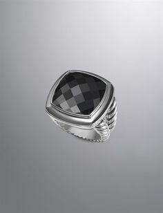David Yurman Black Onyx Ring