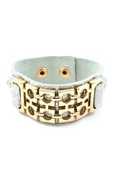 Gold detailed cuff.one in every shade of the rainbow please
