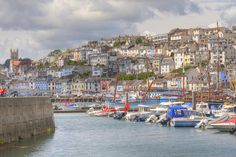 A HDR of Brixham Hdr, San Francisco Skyline, Places, Photography, Travel, Fotografie, Photograph, Viajes, Photo Shoot