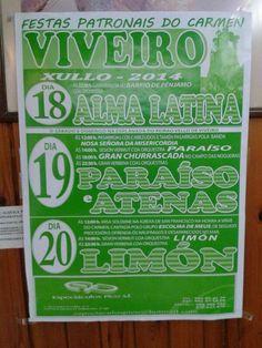 Fiestas Carmen Viveiro