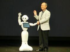 SoftBank presenta a Pepper, el primer robot del mundo con emocioneshumanas