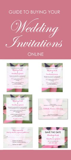 While online ordering may seem daunting, it can actually be a fun and easy way to get just the wedding invitations you want, at a great price. We'll tell you how, no matter which vendor you select.  #weddinginvitations #invitationswithoutttears