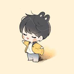 euphoria  #btsfanart #Jungkook Kpop Drawings, Kawaii Drawings, Bts Jungkook, Cartoon Art, Cute Cartoon, Chibi Kawaii, Taehyung Fanart, Dibujos Cute, Bts Chibi