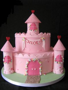 Great cake for all the little princesses..and big ones too : )