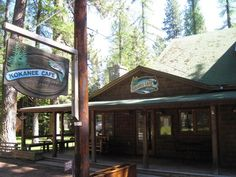 Kokanee Café, Camp Sherman, OR  Fine dining is alive and well in the woods of Oregon. Glamping was never so delicious.