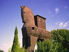 Turkey, Trojan Horse, Troy