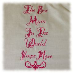 Personalised Best Mum in the World Novelty by ShropshireNatural