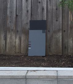 fence colour - Dear House I Love You Grey Fence Paint, Painted Wood Fence, Fence Paint Colours, Fence Stain, Paint Colors, Privacy Hedge, Outdoor Privacy, Outdoor Decor, Cabot Stain