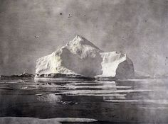 charlmalan: William Bradford View of Icebergs on our way north. The Arctic regions, illustrated with photographs taken on an art expedition to Greenland Albumen print Sterling and Francine Clark Art Institute Library William Bradford, Art Of Memory, Mountains Of Madness, Clark Art, Water Art, Floating In Water, Landscape Illustration, World Best Photos, Vintage Photographs