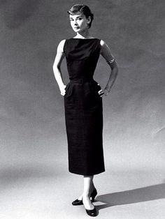 audrey hepburn little black dress | Audrey Hepburn little black dress – Vintage Retro Pinup style pencil ...