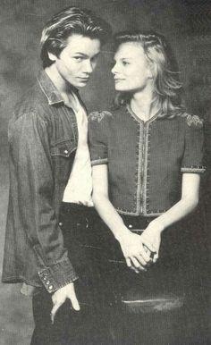 River Phoenix and girlfriend Martha Plimpton