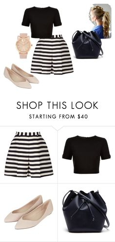 """""""i"""" by cassieowl on Polyvore featuring Reiss, Ted Baker, Topshop and Lacoste"""