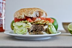 Asian Turkey Burgers with Spicy Lime Mayo from How Sweet It Is...delicious!!
