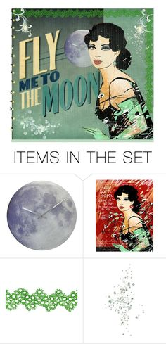"""Fly Me To The Moon"" by skpg ❤ liked on Polyvore featuring art"