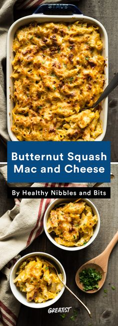 3. Butternut Squash Mac and Cheese #easy #vegetarian #dinners http://greatist.com/eat/vegetarian-dinner-recipes-that-bake-in-one-pan