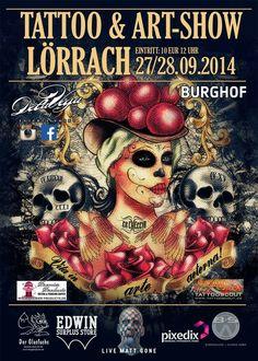 Tattoo & Art Show Lörrach 2014
