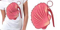 """Bomb""""shell"""" T-Shirt by ▌XLonche #POTD99 06.03.2013 #pink #beach"""