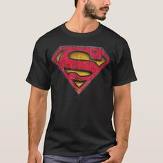 Justice League Superman Panels Juvy T-Shirt In Royal Blue