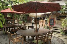 Cafe at Yoga Barn Ubud Bali Indonésia