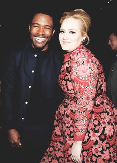 And he was excited to see Adele. | 25 Times Frank Ocean Stole The Grammys