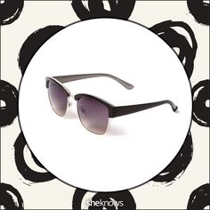 Check out these Ray-Ban look-alikes, and stop by @sheknows site for where to buy them. When retro meets fashion-forward, this is what you get. (Icing, $17)