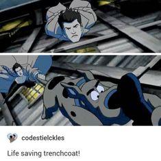 "Life saving trenchcoat   13x16 ""Scoobynatural"""
